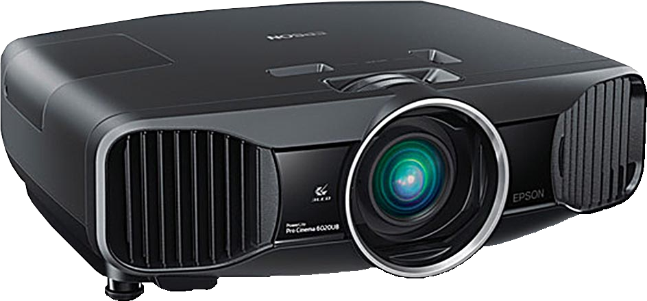 Home Theater Projector used in one of our media rooms