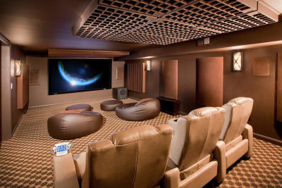 Custom Acoustical Treatment For A Greeley Home Theater