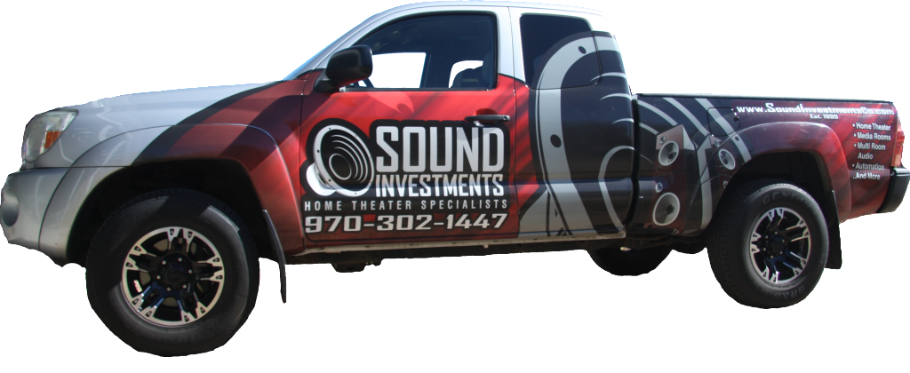 look for the home theater installers in the sound investments vehicle