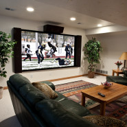 Big Screen In Your Family Room