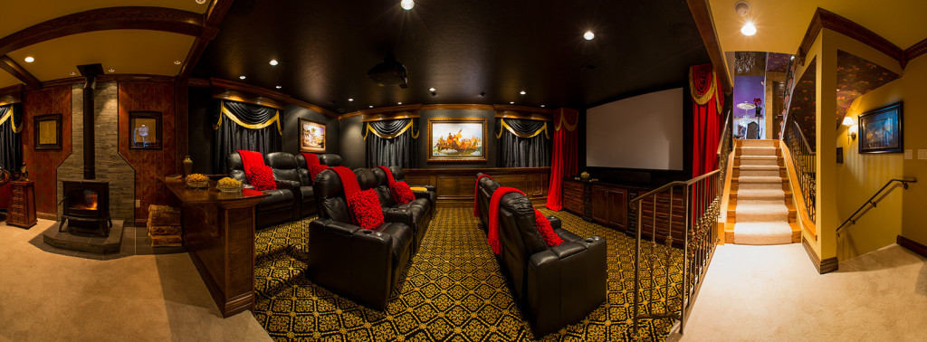 custom home theater installation in Greeley CO